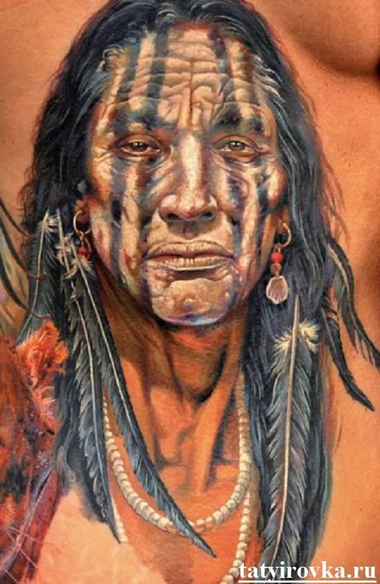 Тату-индеец-и-их-значение-6