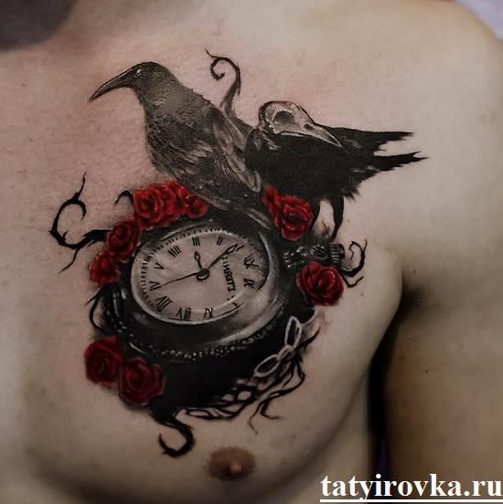 Тату-часы-и-их-значение-17