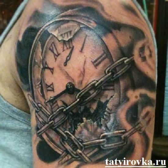 Тату-часы-и-их-значение-4