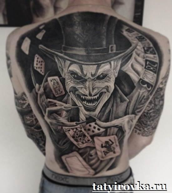 Тату-Джокер-и-их-значение-7
