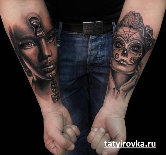 Черно-белые-татуировки-и-их-значение-2