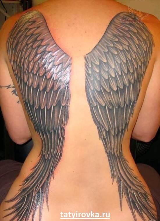 Тату-крылья-и-их-значение-5