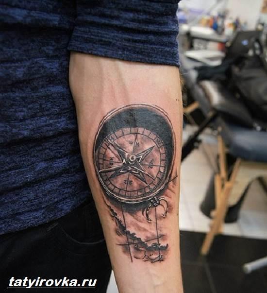 Тату-компас-и-их-значение-8