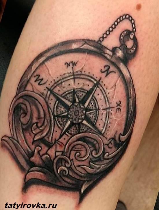 Тату-компас-и-их-значение-3