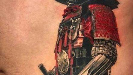 Тату самурай. Значение тату самурай. Эскизы и фото тату самурай