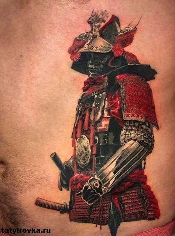 Тату-самурай-Значение-тату-самурай-Эскизы-и-фото-тату-самурай-1