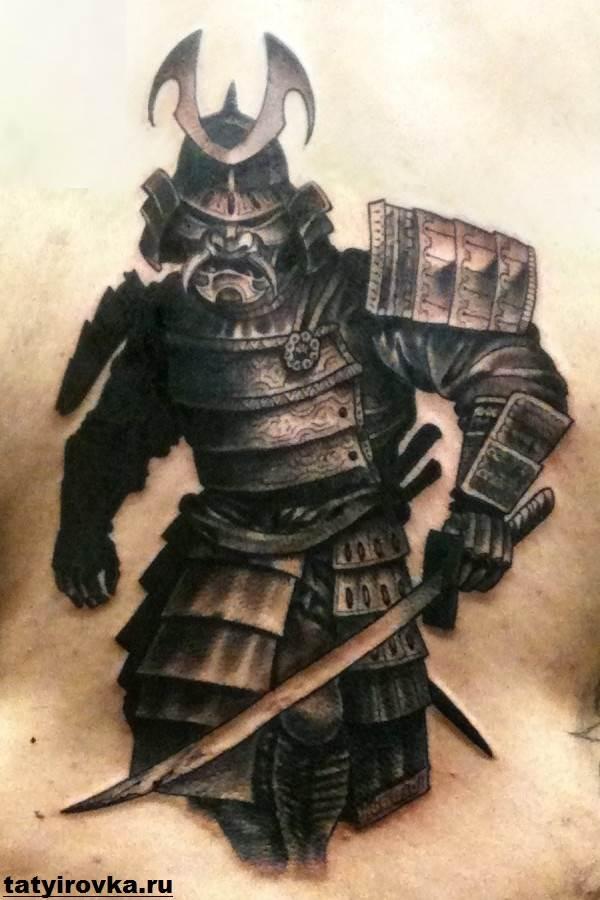 Тату-самурай-Значение-тату-самурай-Эскизы-и-фото-тату-самурай-12