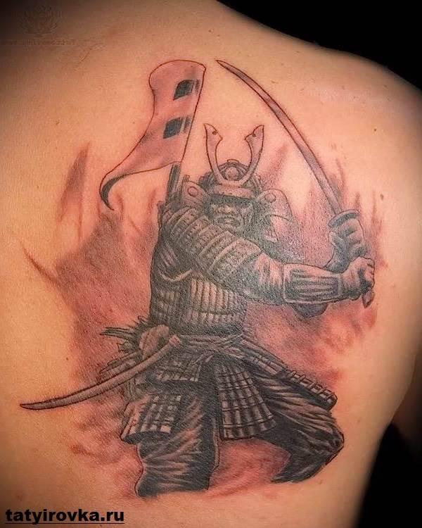 Тату-самурай-Значение-тату-самурай-Эскизы-и-фото-тату-самурай-8