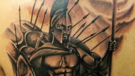 Тату спартанец. Значение тату спартанец. Эскизы и фото тату спартанец