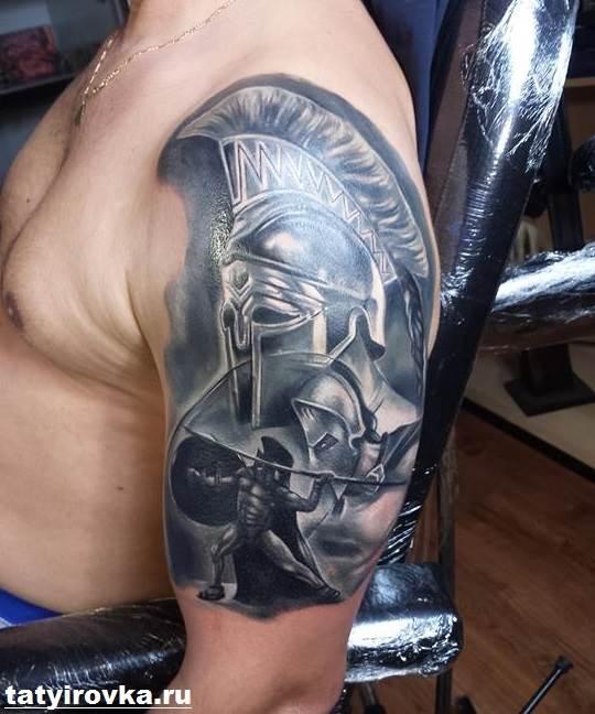 Тату-спартанец-Значение-тату-спартанец-Эскизы-и-фото-тату-спартанец-5